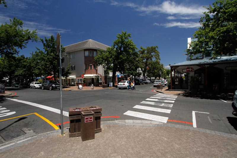 Stellenbosch historic centre