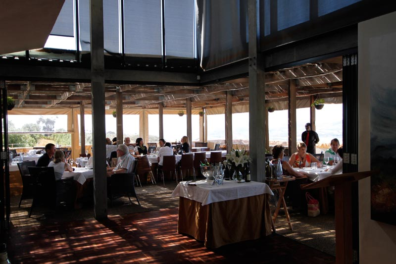 Winery restaurant