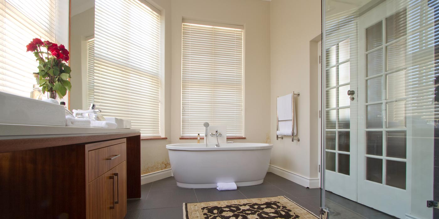 Luxury Stellenbosch Guest House accommodation suite shower